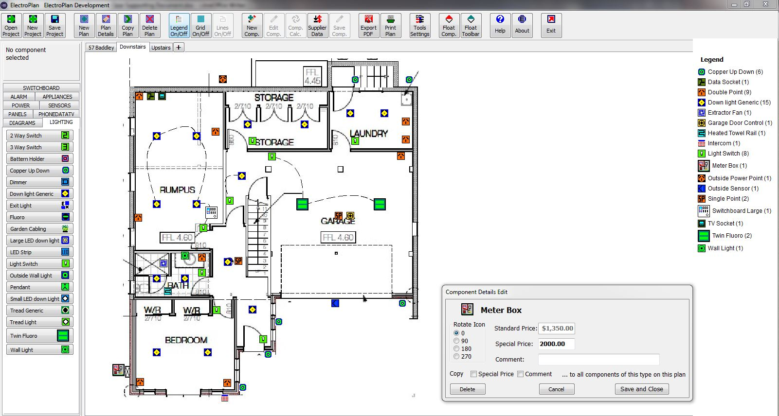 Electroplan Software Electrical Pricing Planning