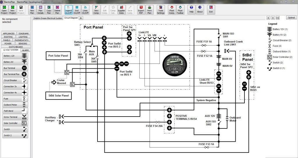 Screen Capture - Electrical System,