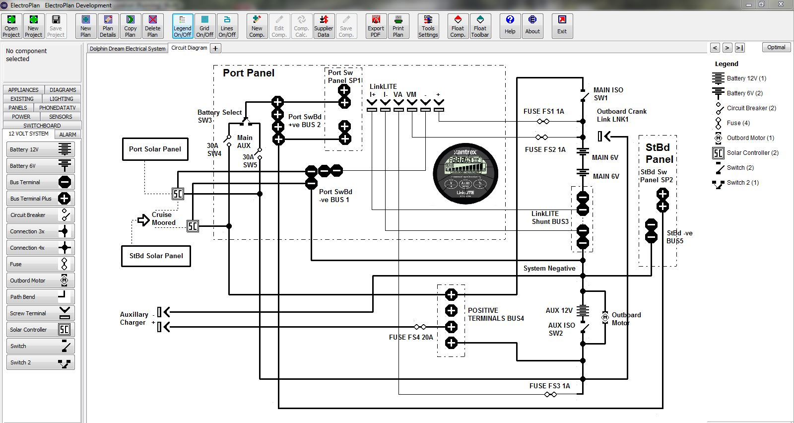 Electroplan Software Electrical Pricing Planning Documents House Wiring Quotation Circuit Diagrams Screen Capture System